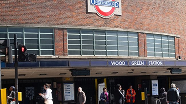 Wood Green Tube Station