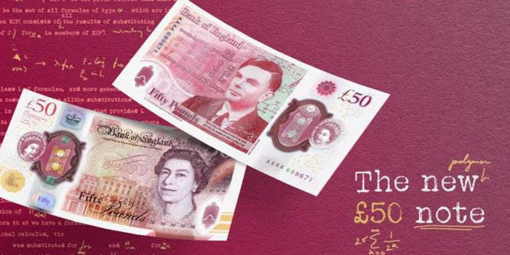 Launch of the new £50 note