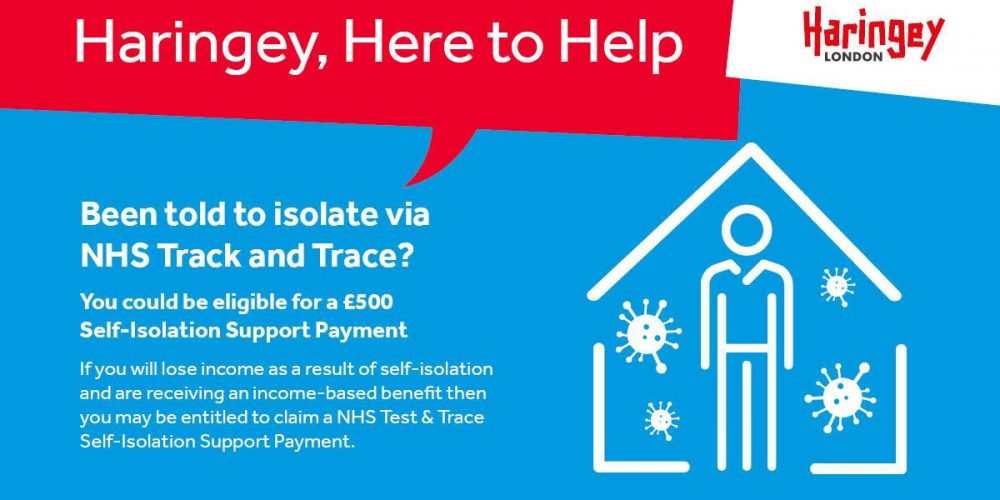 NHS Test and Trace Self-Isolation Support Payment