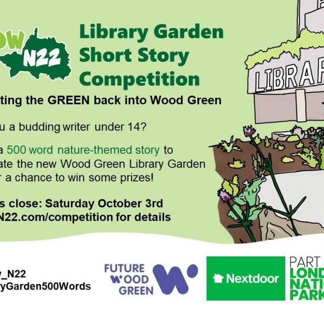 Enter Wood Green Library Garden Short story Competition