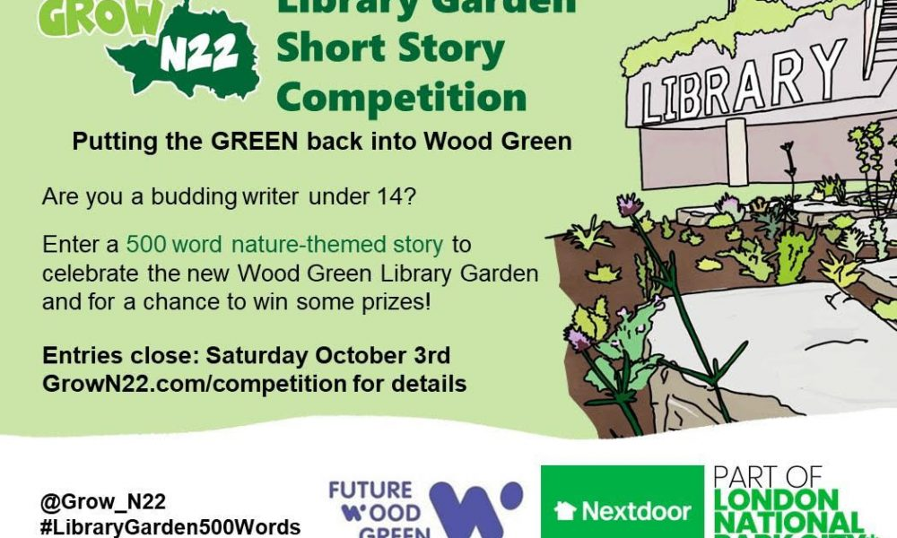 Library Garden writing competition