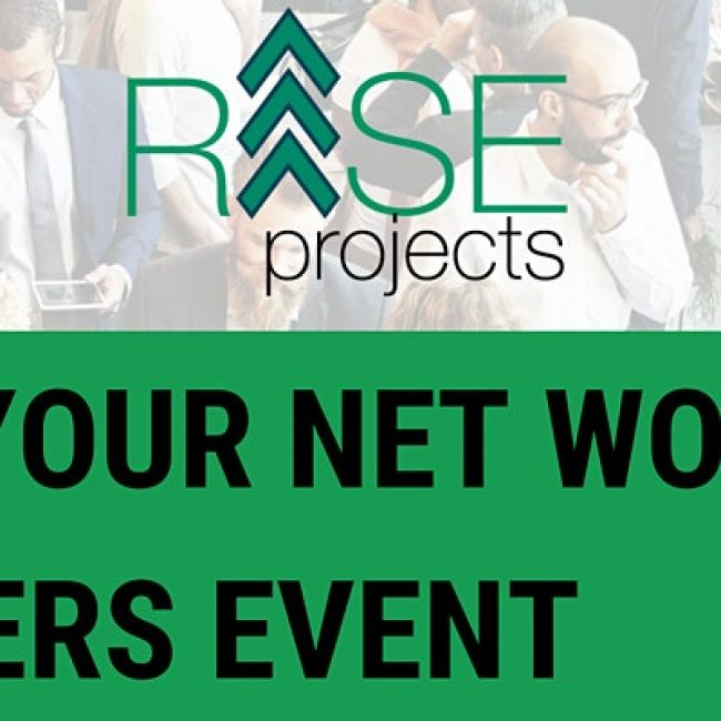 RISE Your Net Worth Careers Event