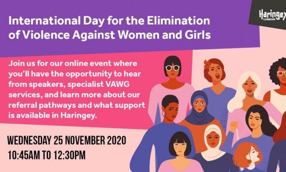 International Day for the Elimination of Violence Against Women & Girls