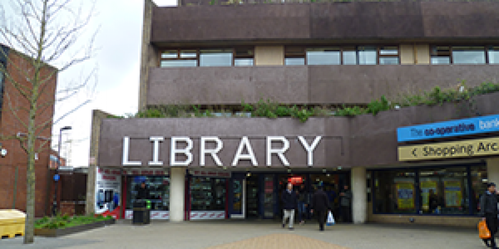 Wood Green Library: Welcoming customers back into libraries from December 2020