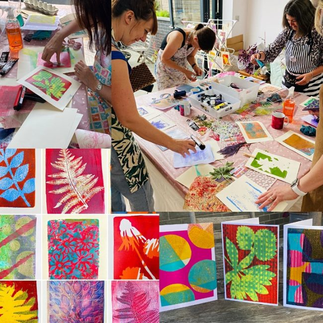 Art with Mollie Gel Printing Workshop for Adults (at Crafty Nolo)