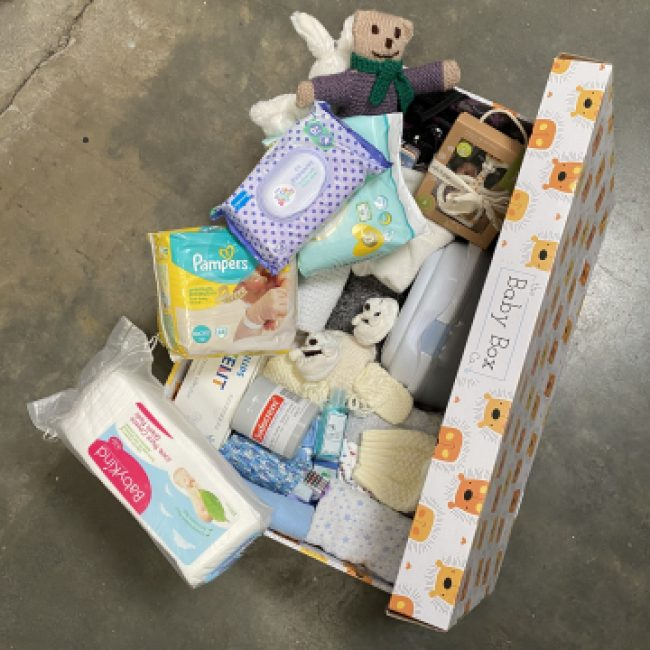PramDepot: Delivering emergency Baby Boxes to mothers in need.