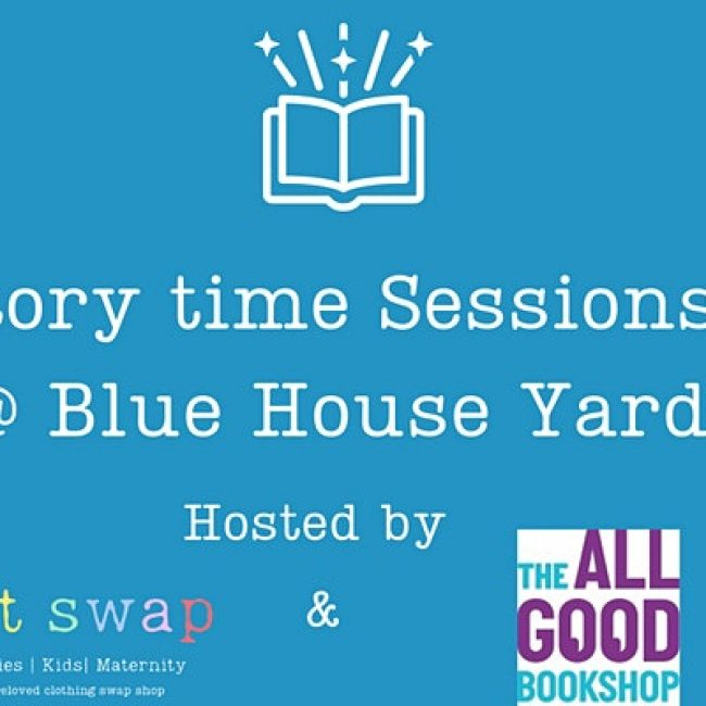 Storytime Sessions at Blue House Yard